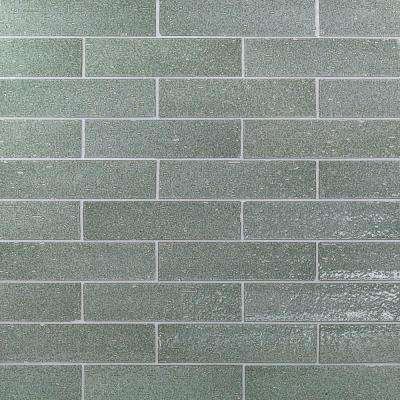 Rhythmic Tidewater 2 in. x 9 in. 12mm Glazed Clay Subway Tile (30-piece 4.63 sq. ft. / box)