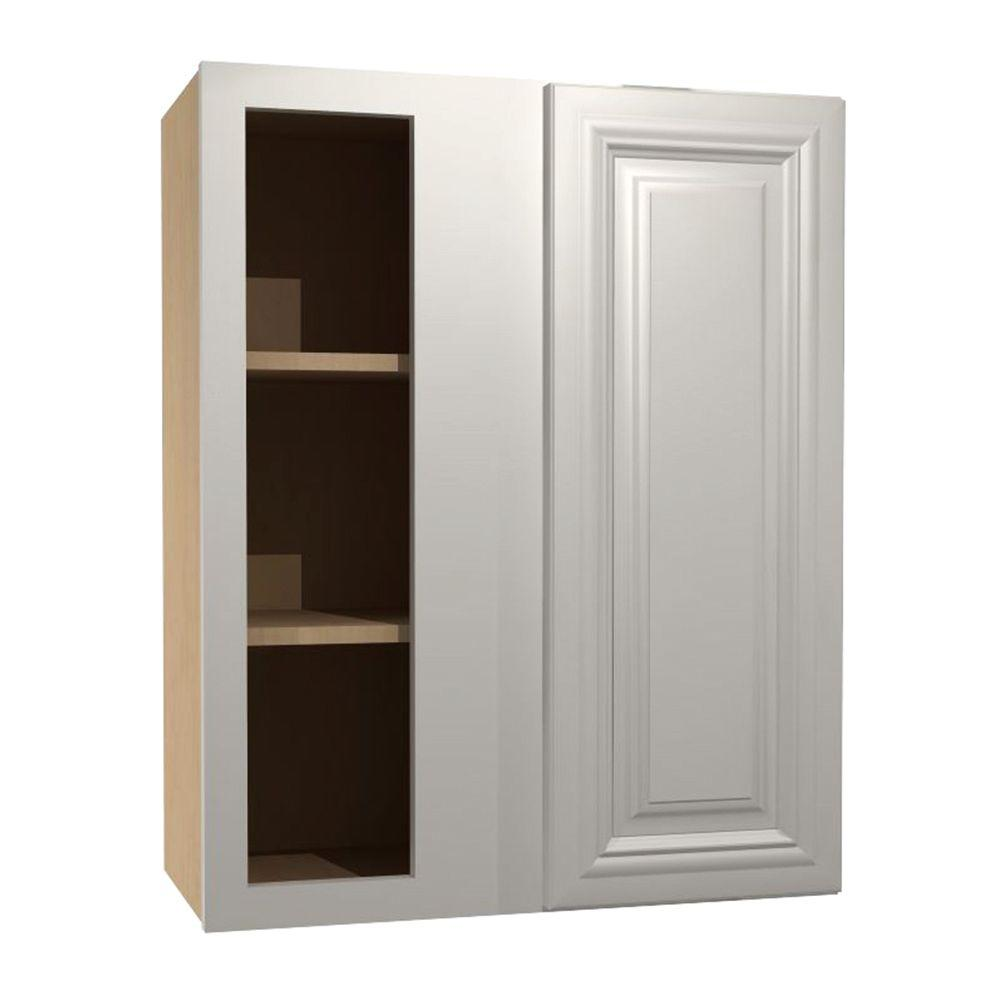 Coventry Assembled 24x30x12 in. Single Door Hinge Left Wall Kitchen Blind