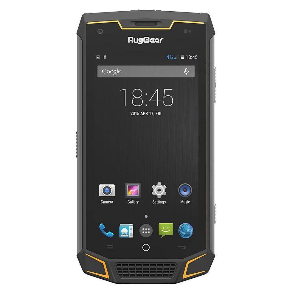 Unlocked 4g Lte Ip68 Waterproof Mobile Phone Rugged Android Smart Rg740 The Home Depot
