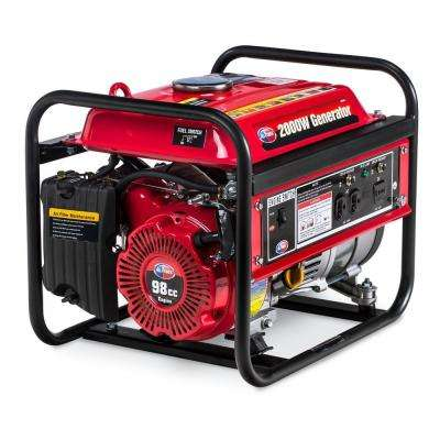 1400-Watt Gasoline Powered Portable Generator with Open Frame