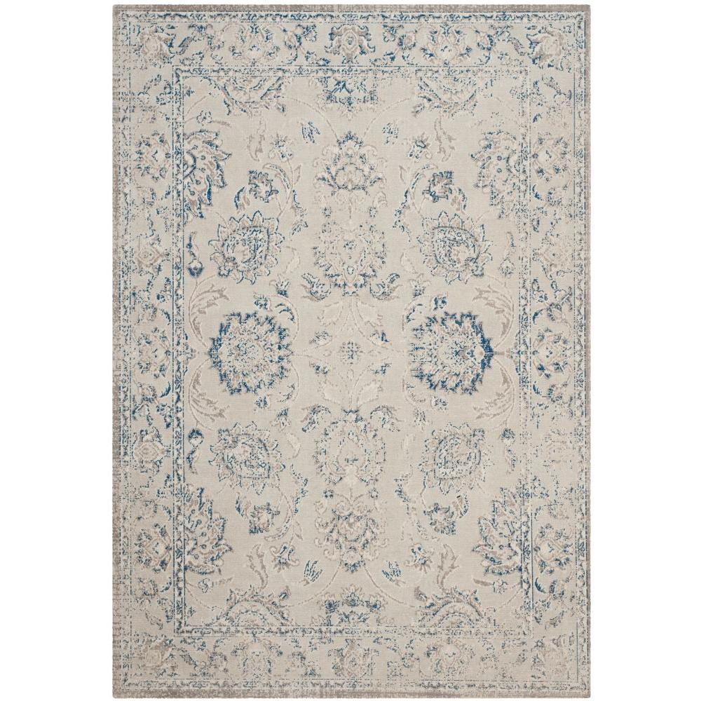 Safavieh Patina Grey Blue 4 Ft X 6 Area Rug
