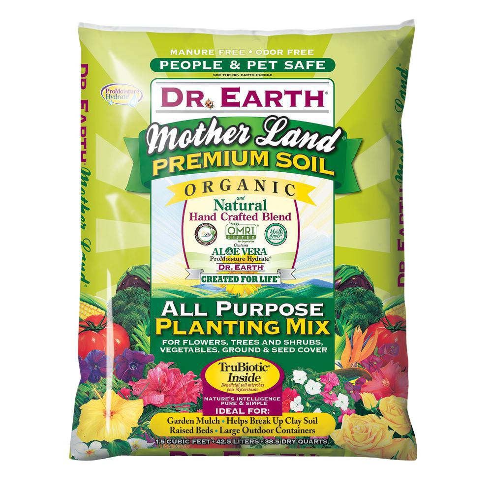 1.5 cu. ft. Mother Land All Purpose Planting Mix