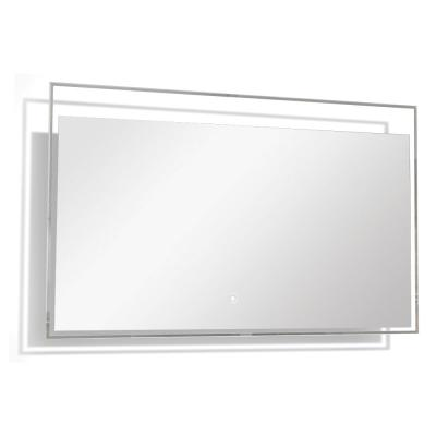 Taylor 47.24 in. x 23.62 in. Single Frameless LED Mirror