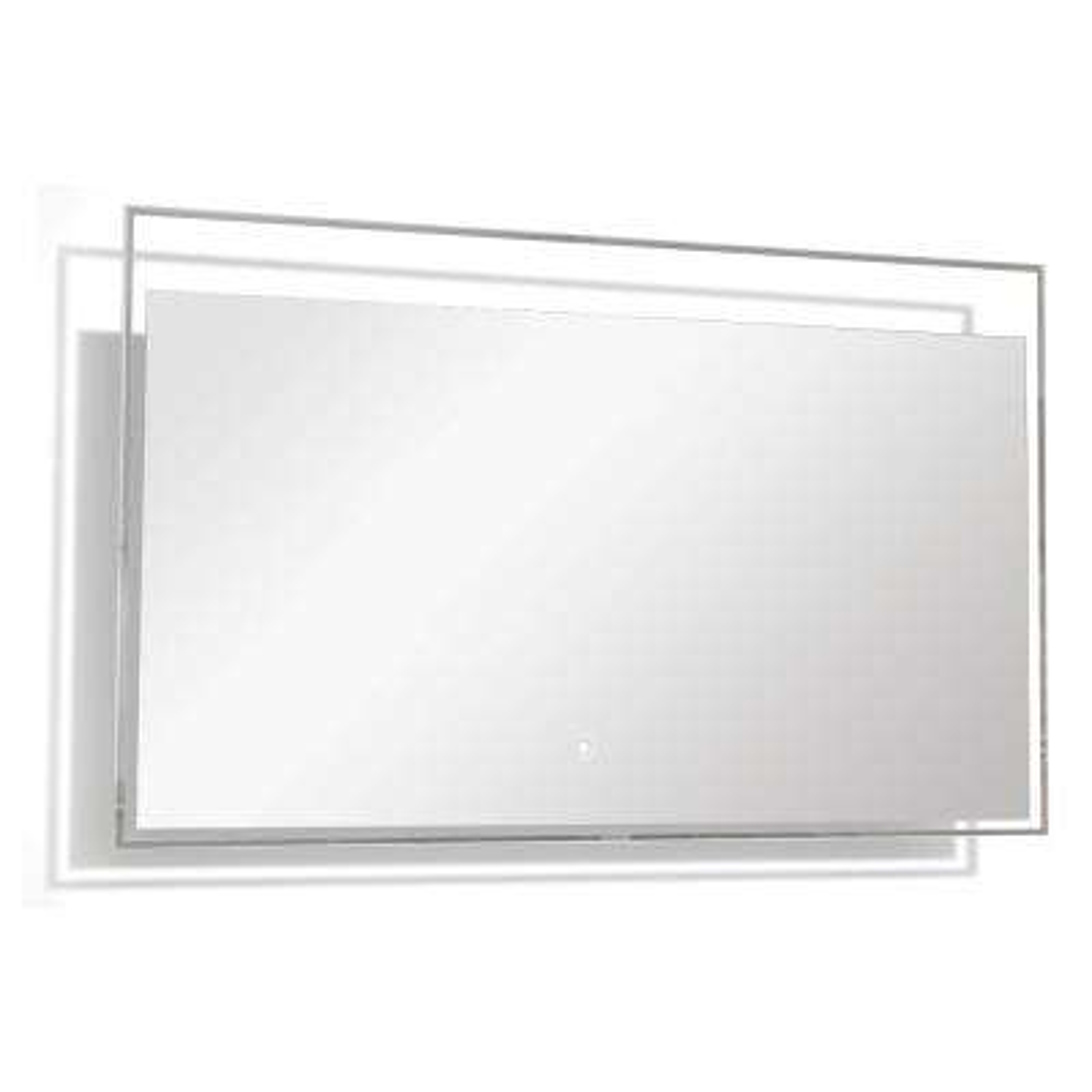 Taylor 47.24 in. x 23.62 in. Single Frameless LED Mirror