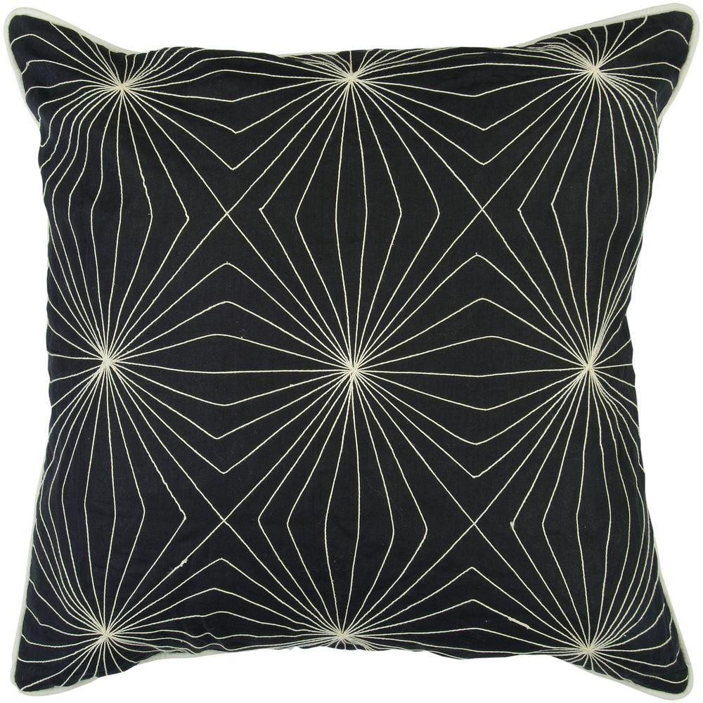 Artistic Weavers GeometricA 18 in. x 18 in. Decorative Down Pillow-DISCONTINUED