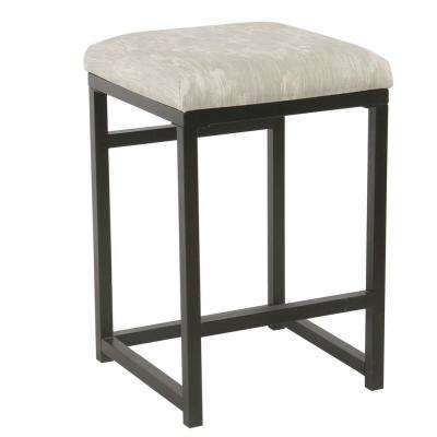 Open Back Metal  24 in. Graystone Bar Stool
