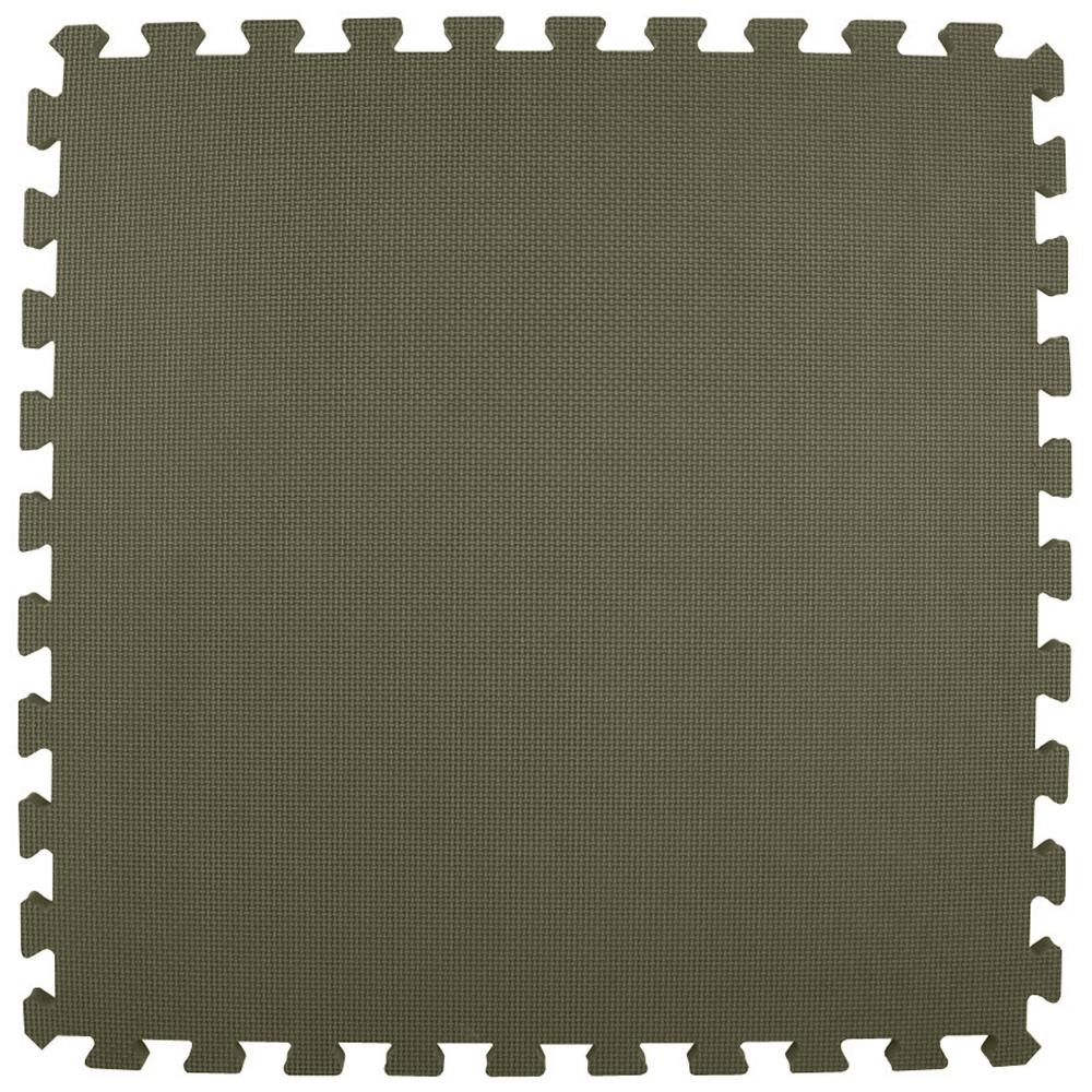 Economy Foam Gray 2 ft. x 2 ft. x 1/2 in.