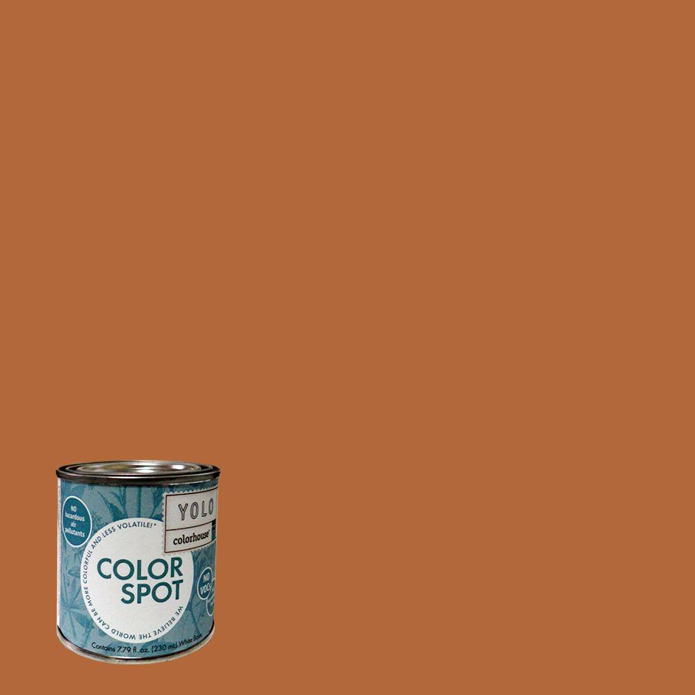 YOLO Colorhouse 8 oz. Wood .02 ColorSpot Eggshell Interior Paint Sample-DISCONTINUED