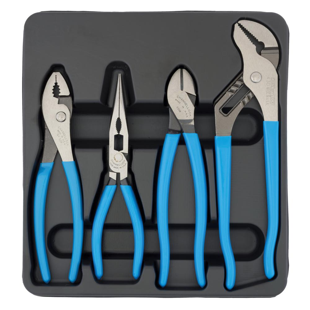 4 PC. Pro's Choice Pliers Set