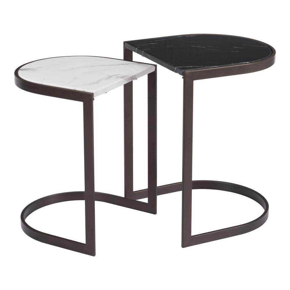 Stanton Black Nesting End Tables