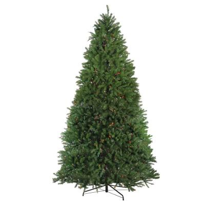 9 ft. Pre-Lit Northern Pine Full Artificial Christmas Tree - Multi Lights