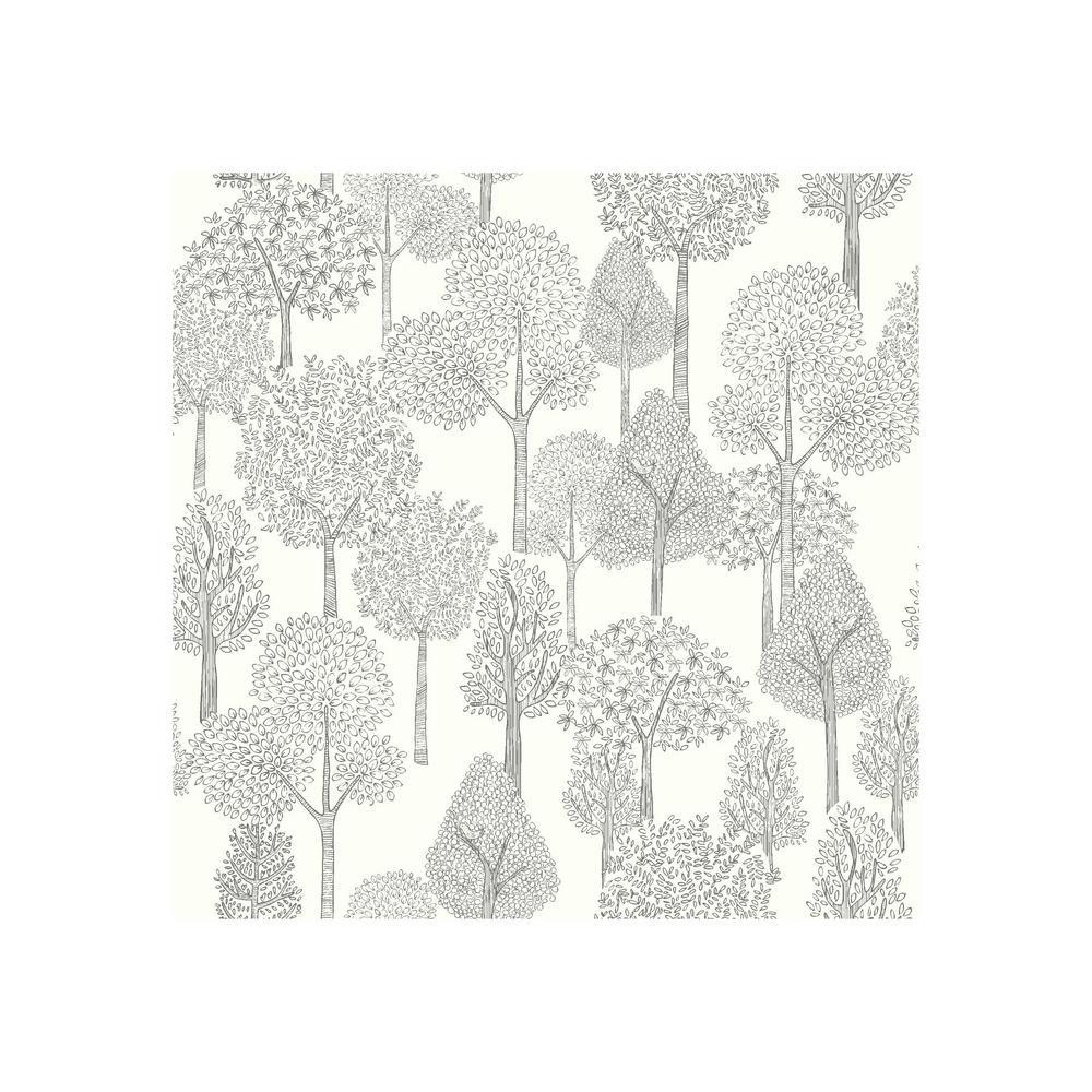 DwellStudio Baby and Kids Treetops Wallpaper
