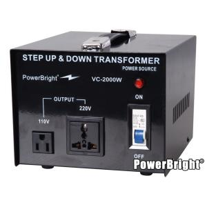 Ogromny Power Bright 2000-Watts Step Up/Down Converter 110/120-Volt - 220 RQ07
