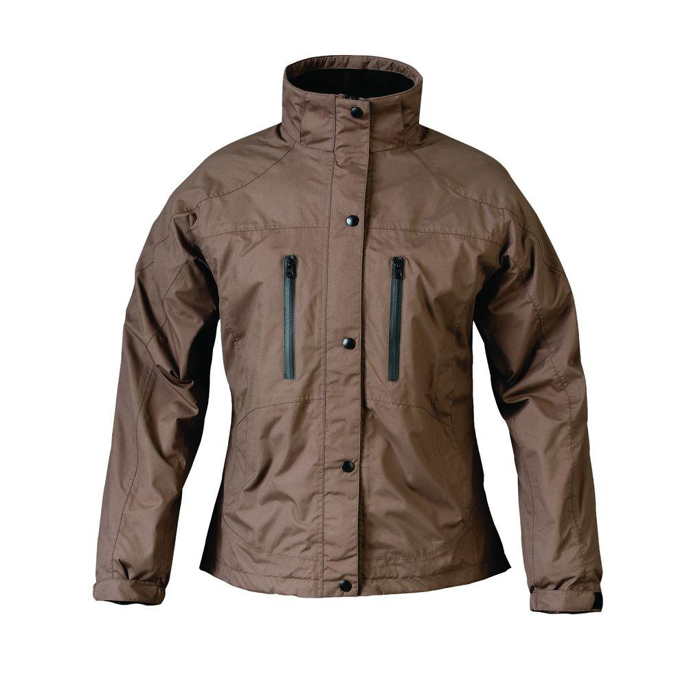 Mossi Ladies RX Medium Brown Rain Jacket