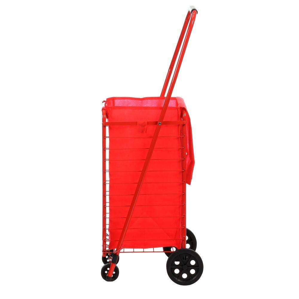 Sandusky 4 Wheel Utility Cart with Liner by Sandusky