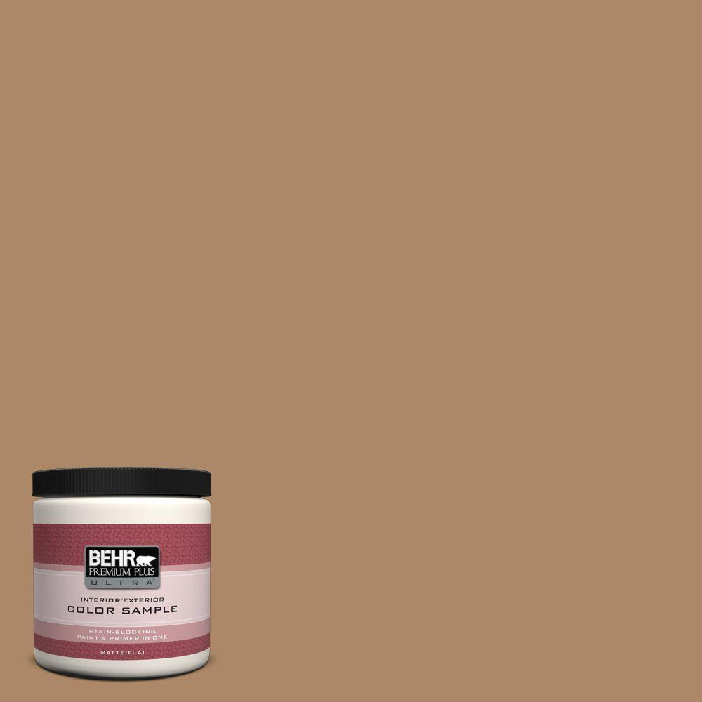 8 oz. #BIC-44 Chamois Leather Interior/Exterior Paint Sample