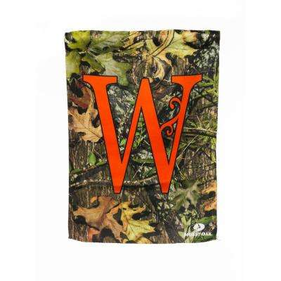 Mossy Oak 2-1/2 ft. x 3-2/3 ft. Monogrammed W 2-Sided Sublimated House Flag