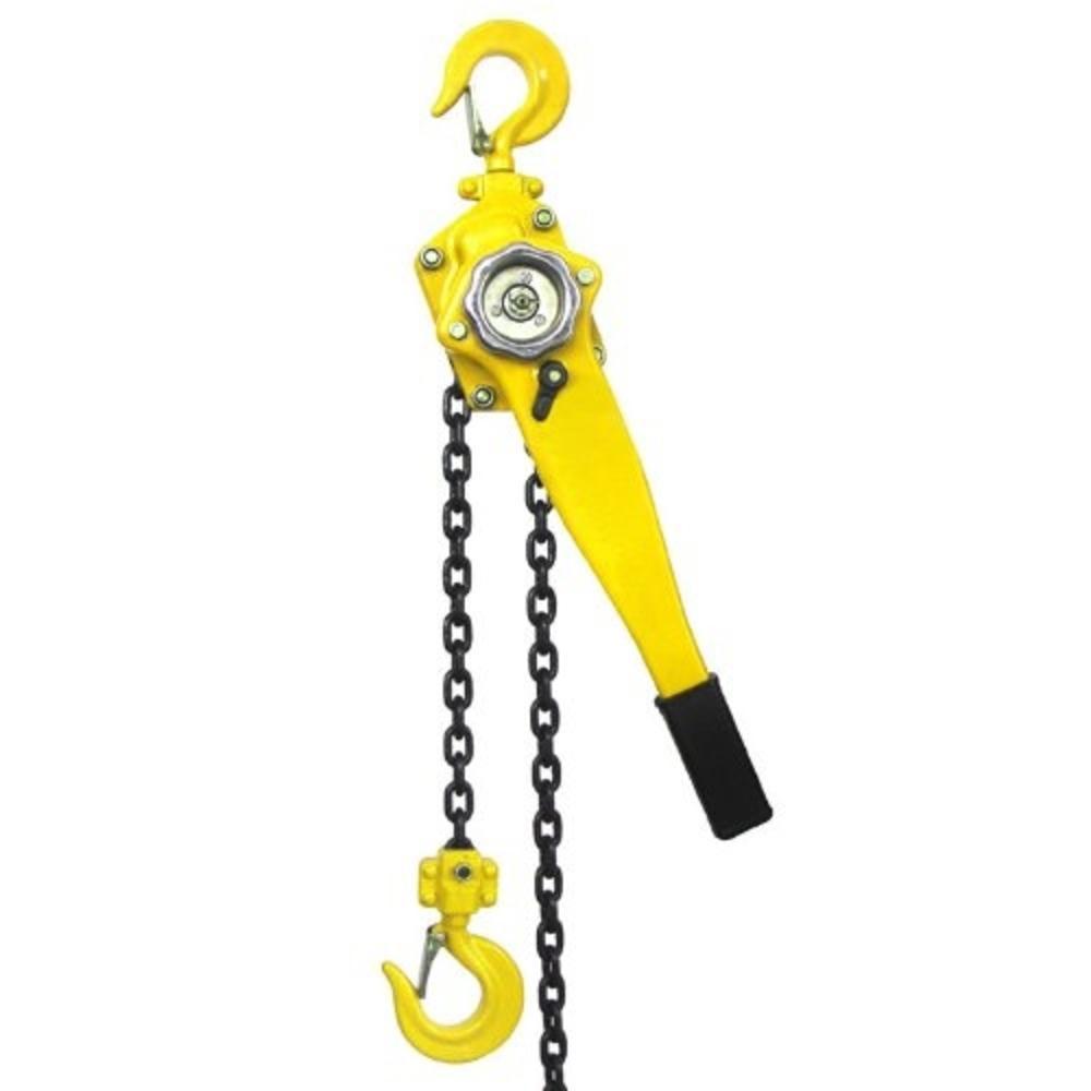 20 ft. 3/4-Ton Steel Block Chain Lever Hoist Puller Lifter