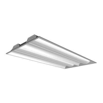 60-Watt 2 ft. x 4 ft. 5000K Natural White Dimmable LED Recessed Troffer