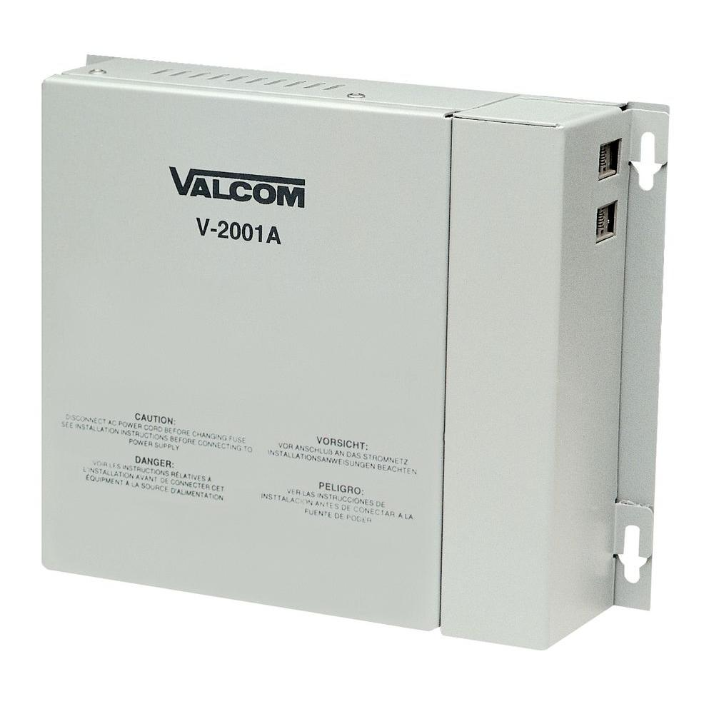 Valcom 1-Zone 1-Way Enhanced Page Control with Power