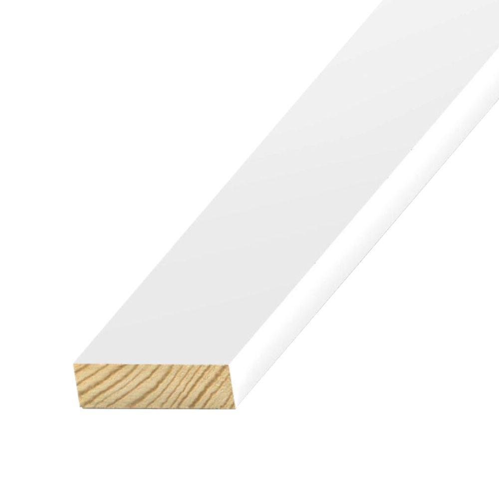 1 in. x 8 in. x 10 ft. S1S2E Primed-Treated Pine