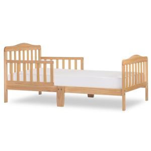 official photos 646b7 7a2ff Classic Design Natural Toddler Bed