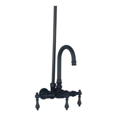 TW14 3-Handle Wall-Mount Roman Tub Faucet without Handshower in Oil Rubbed Bronze (Valve Not Included)