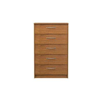 Oriole 5-Drawer Bank Alder Chest
