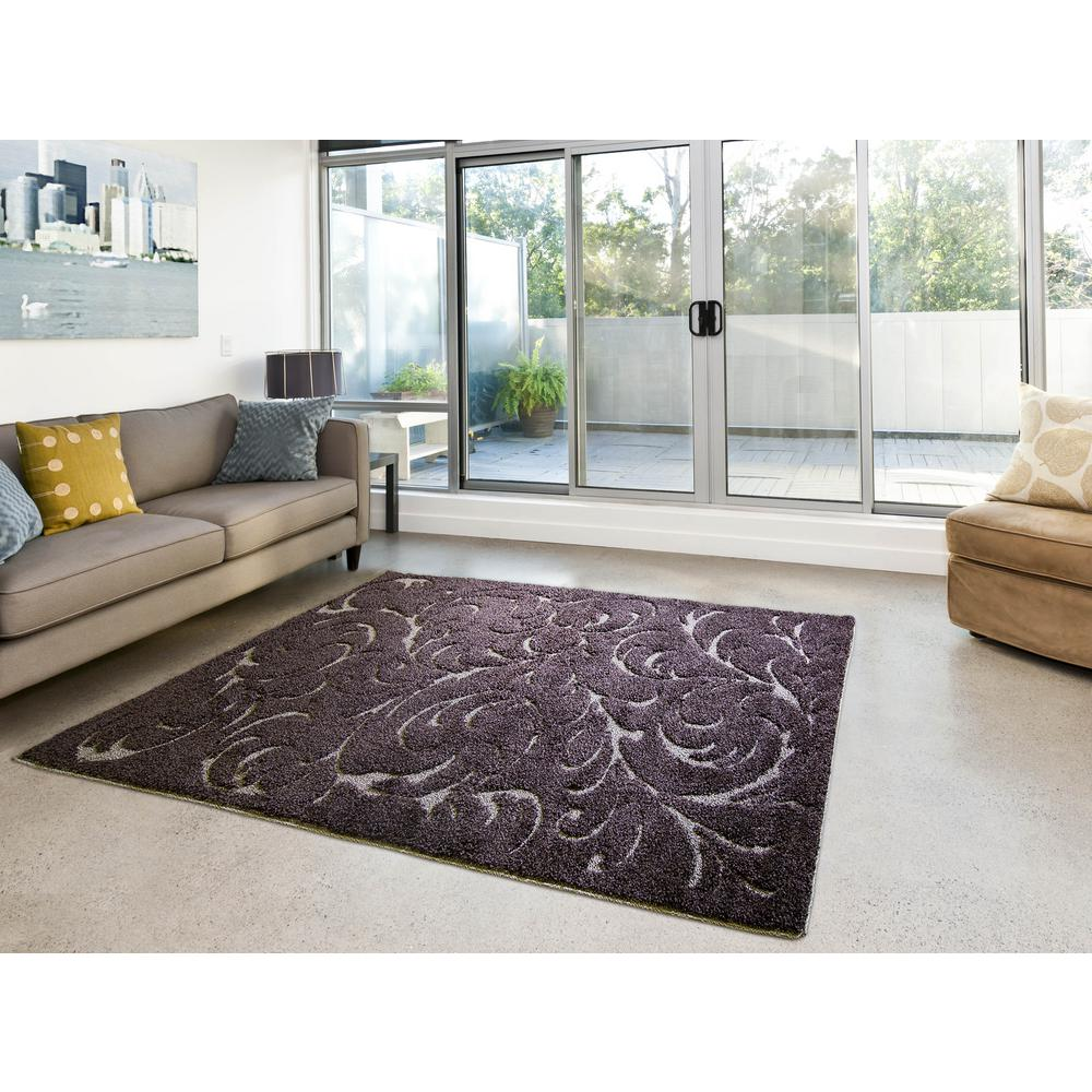 Canyon brown 3 ft x 5 ft indoor area rug