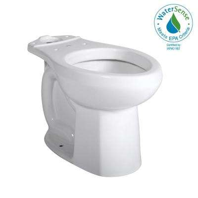 Champion Pro Elongated Toilet Bowl Only in White