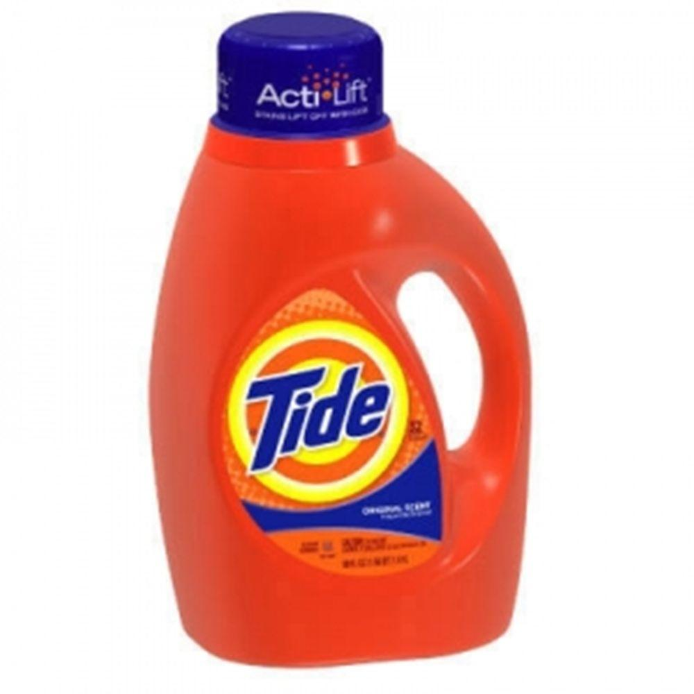 Tide 50 oz. Original Scent Liquid Laundry Detergent (Case ...