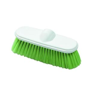 Carlisle 9.5 inch Flow Through Nylex Wall Scrub Brush (Case of 12) by Carlisle