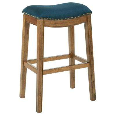 Austin 31.25 in Klein Azure Bar stool