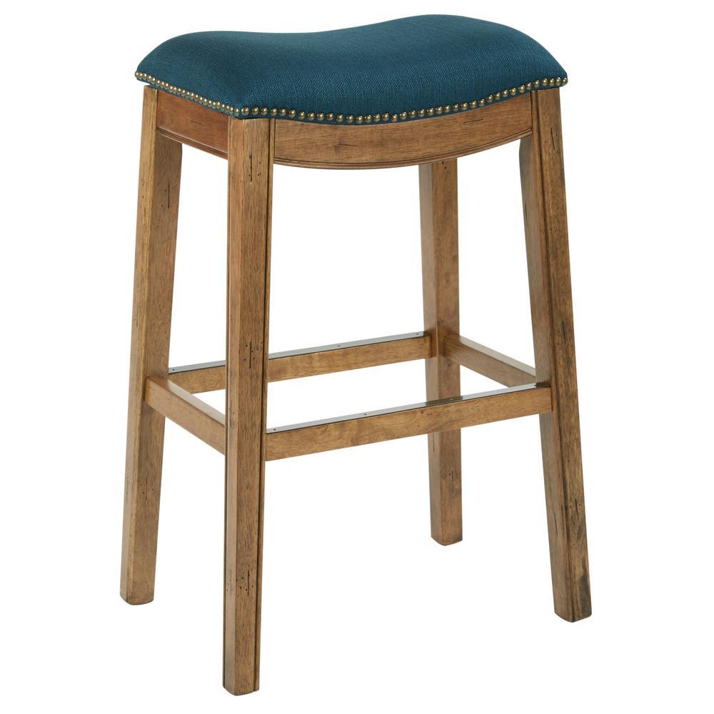 Austin 31.25 in Klein Azure Bar stool