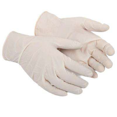 Disposable Latex Gloves, 50 Count (One Size Fits Most)