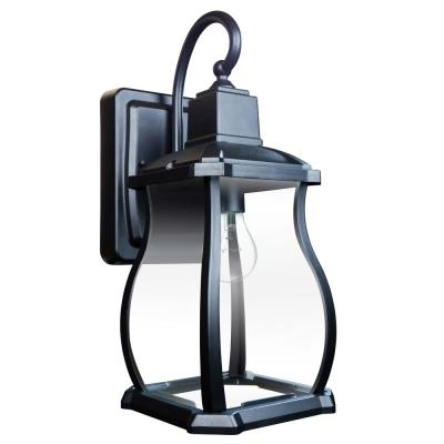 Northampton 1-Light Black Outdoor Wall Lantern Sconce