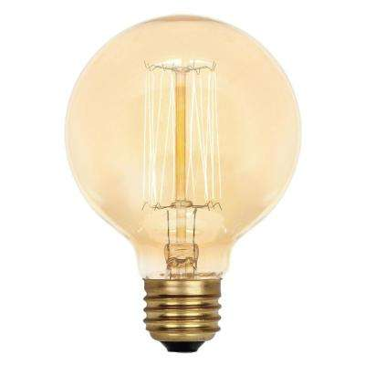 60-Watt G25 Timeless Vintage Inspired Incandescent Light Bulb