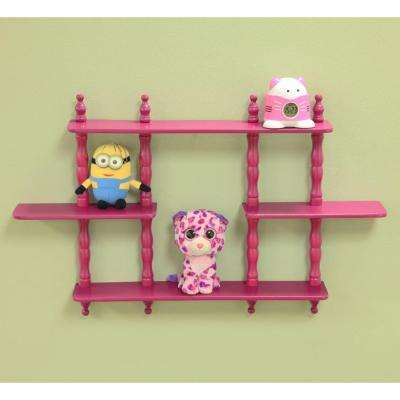 MegaHome - Wood - Wall Mounted Shelves - Shelving - The Home Depot