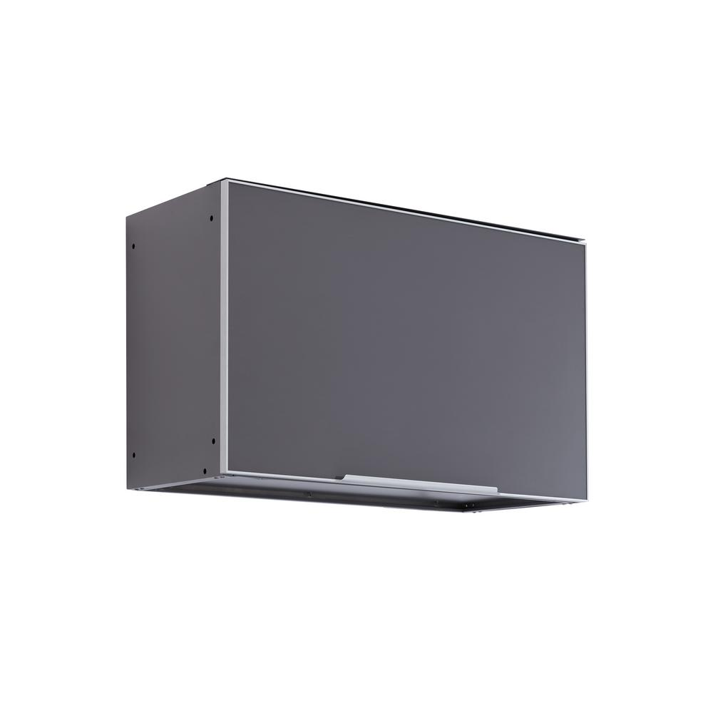 NewAge Products Slate Gray Wall 32 in. W x 20 in. H x 14.75 in. D Outdoor Kitchen Cabinet