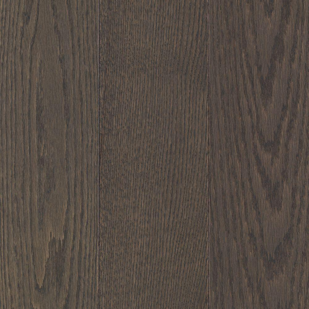 Mohawk Raymore Oak Charcoal 3/4 in. Thick x 5 in. Wide x Random Length Solid Hardwood Flooring (19 sq. ft./case)-DISCONTINUED