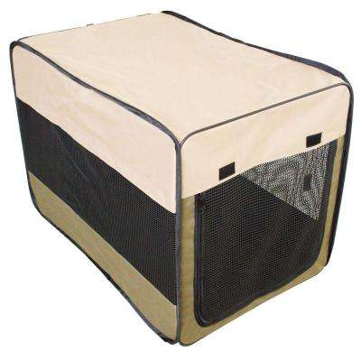 36 in. Portable Pet Kennel for Medium-Sized Pets