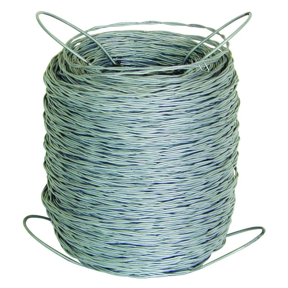 FARMGARD 1320 ft. 12.5-Gauge Barbless Wire-317801A - The Home Depot