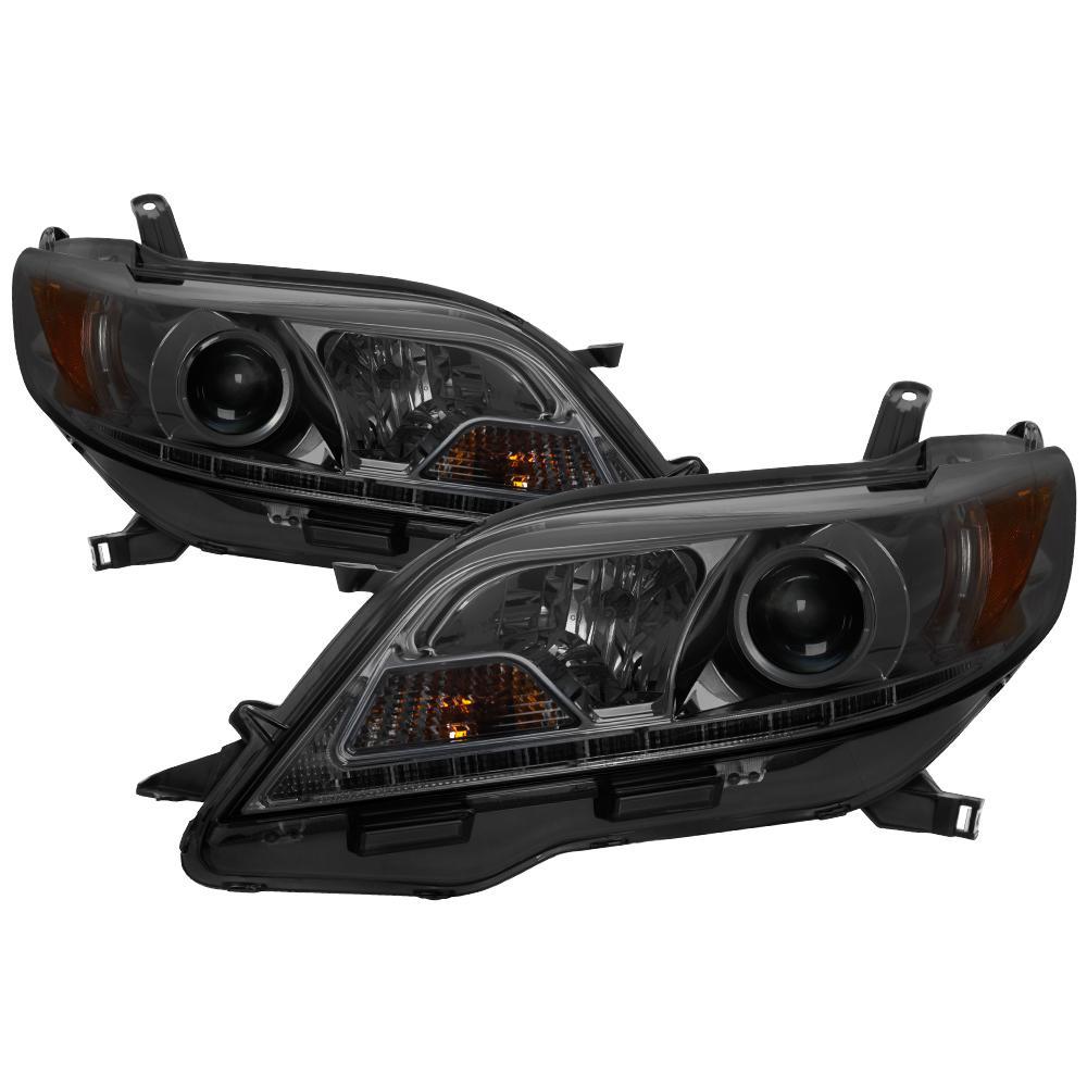 Toyota Sienna 15 17 Se Xe Models Only Projector Headlights Halogen Model Drl Led Smoke