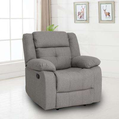 Eastgate Chocolate Fabric Recliner