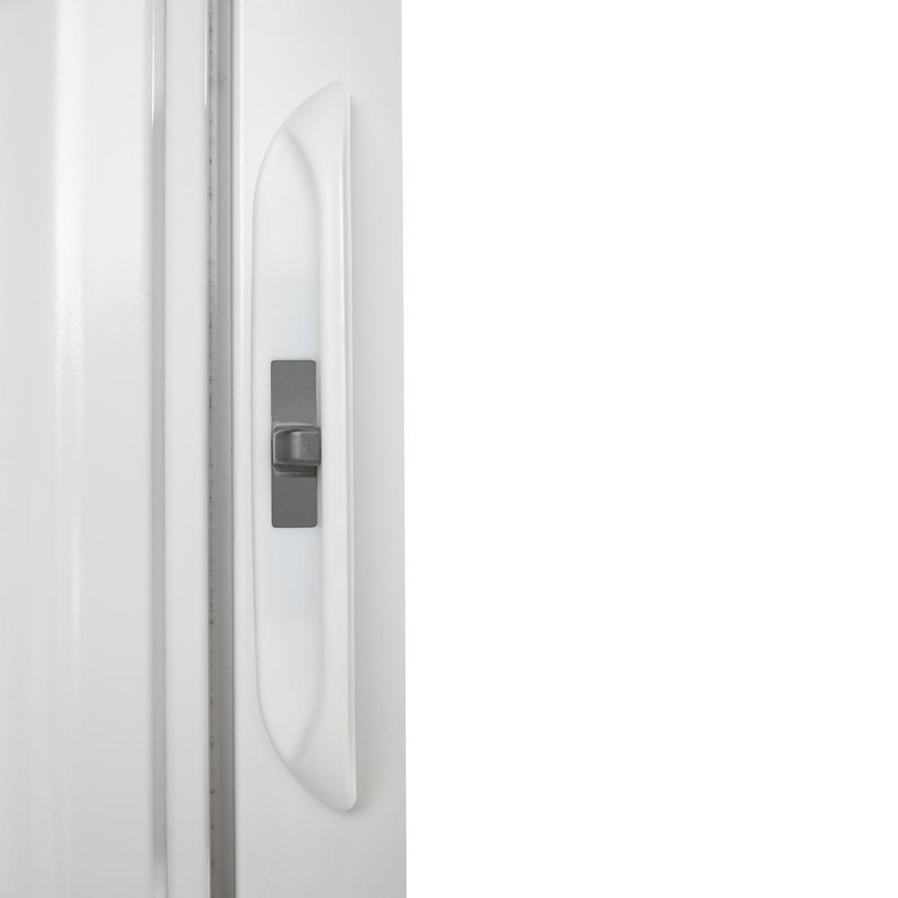 Andersen 72 In X 80 Luminaire White Retractable Screen Door
