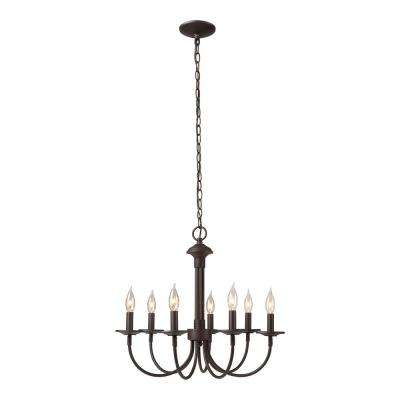 Monteaux 7-Light Oil Rubbed Bronze Chandelier