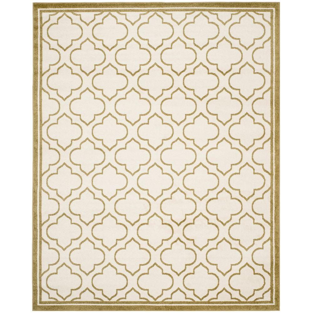 Amherst Ivory/Light Green 8 ft. x 10 ft. Indoor/Outdoor Area Rug