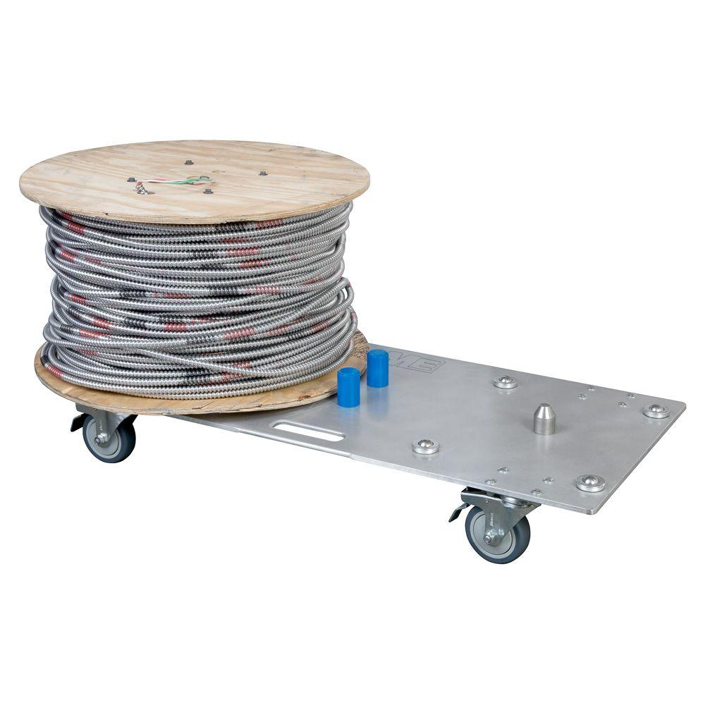 Madison Electric Products Wire Smart 2-Reel Cable Dolly-MH9120 - The ...