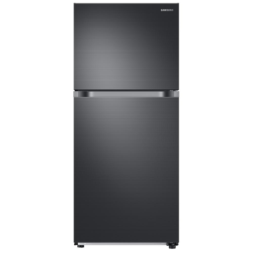 Samsung 17.6 cu. ft. Top Freezer Refrigerator with FlexZo...