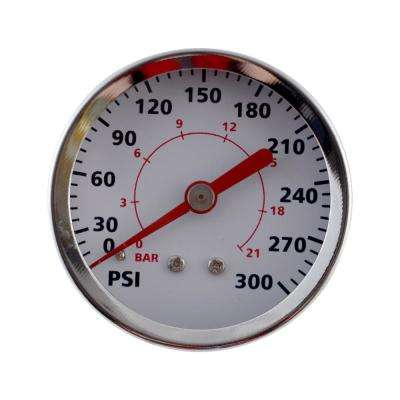 2 in. Back Mount Pressure Gauge